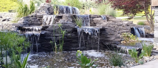 Creative ponds and water features in Kelowna